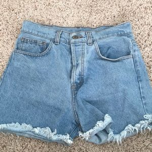Brandy Melville Ray Denim Shorts